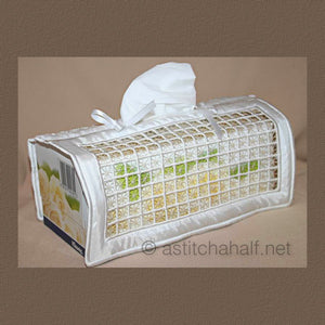 Irish Style Tissue Box Cover 05
