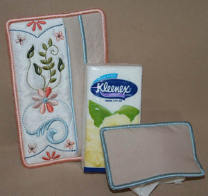 Signature Tissue Pocket - a-stitch-a-half