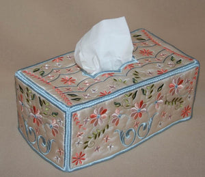 Signature Tissue Box Cover - a-stitch-a-half