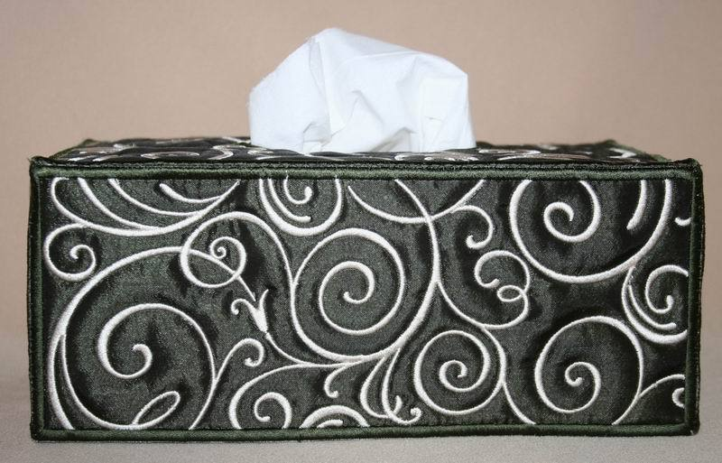 Art Deco Tissue Box Cover