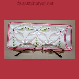 Slim Line Eyeglass Case 02 - a-stitch-a-half