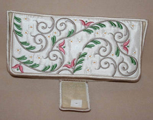 Elegant Foliage Wallet Folder - a-stitch-a-half