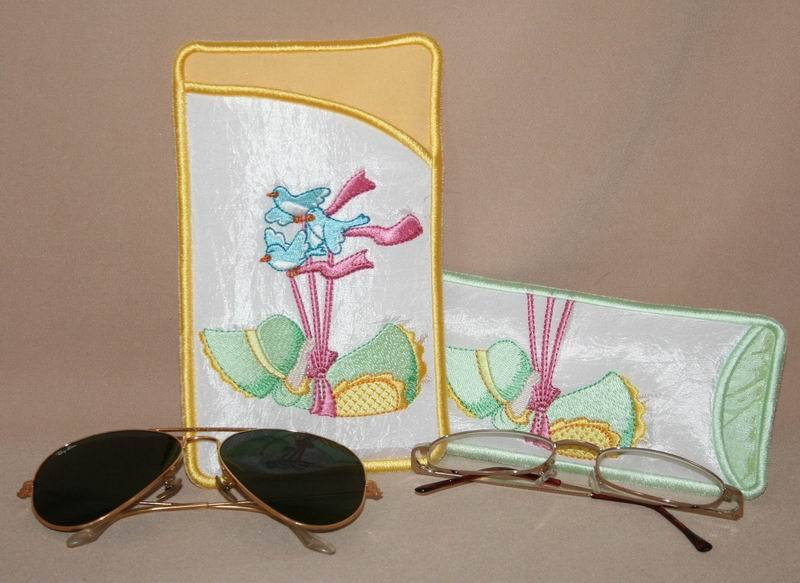 Flying Bonnet Eyeglass Cases - astitchahalf