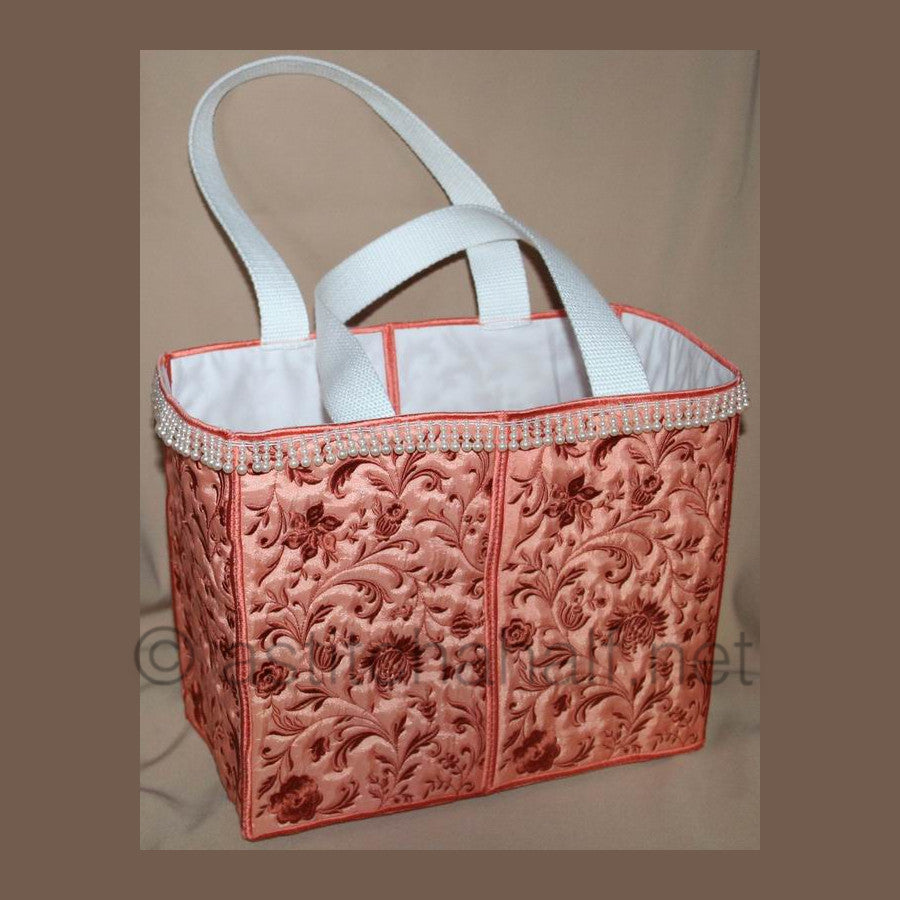 Tote-ly Sunset Bag - a-stitch-a-half