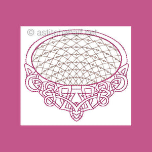 Botany Rings Lace Designs - a-stitch-a-half