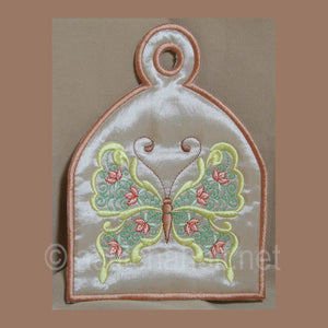 Butterfly Bonanza Towel Toppers - a-stitch-a-half