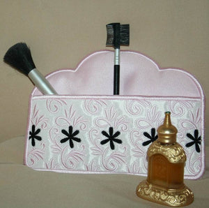 Touch of French Cosmetic Case - a-stitch-a-half