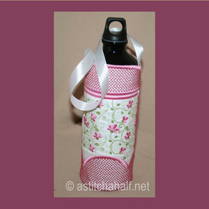 Florette Wine or Water Bottle Tote