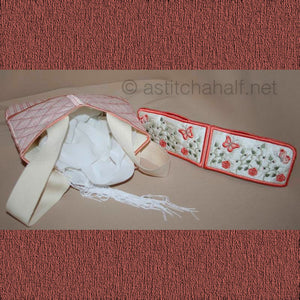 French Rose Eau de Toilette Bag
