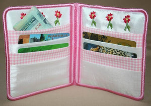 Leisure Bonnet Wallet - a-stitch-a-half