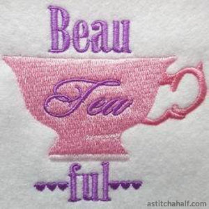 Beau-Tea-Ful - astitchahalf