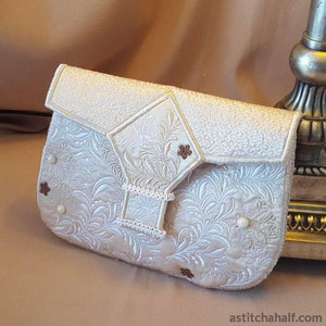 Beautiful Baguette Purse - a-stitch-a-half
