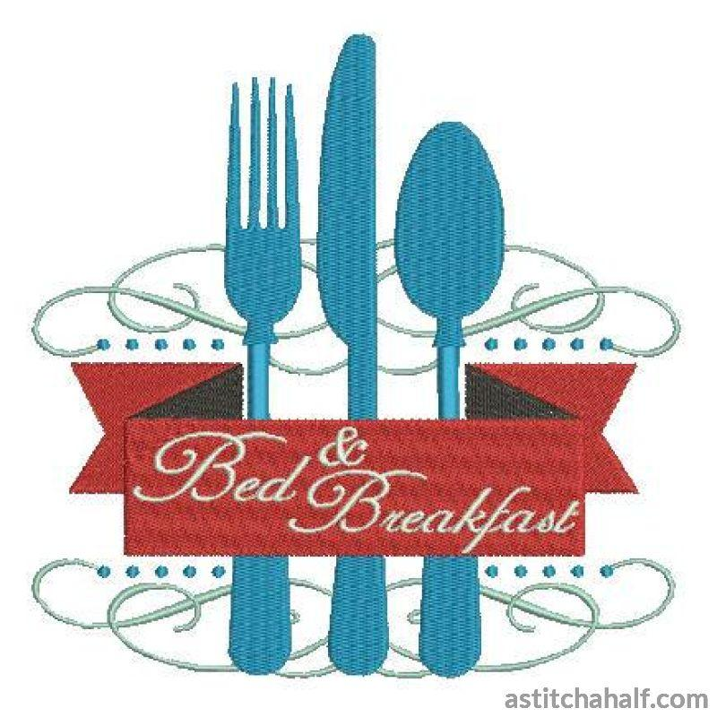 Bed and Breakfast - a-stitch-a-half