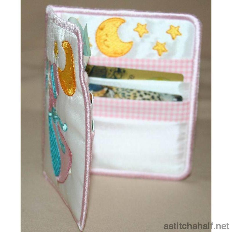 Birdie Bonnet Wallet - astitchahalf