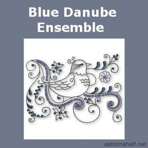 Blue Danube Ensemble Combo - a-stitch-a-half