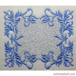 Blue Song Variety - a-stitch-a-half