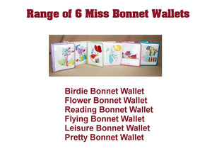 Flower Bonnet Wallet - a-stitch-a-half