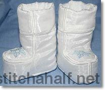 Boots For Babies 1 And 2 Applique