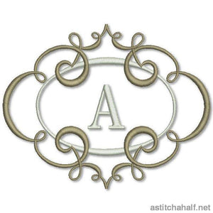 Breath of Spring Monogram Combo for 5*7 hoop - astitchahalf