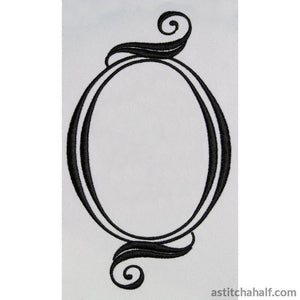 Cameo and Frame - a-stitch-a-half