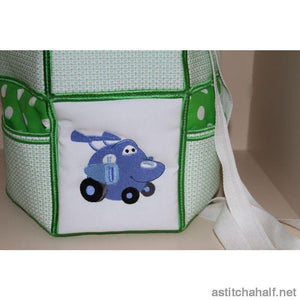 Cars Back Pack for Babies - astitchahalf