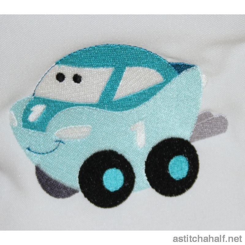 Cars Back Pack for Boys - astitchahalf