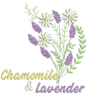 Chamomile and Lavender