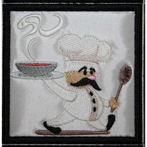 Chef Placemat - astitchahalf