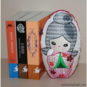 Chinatsu Bookend from Japan - astitchahalf