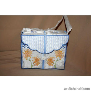Chrysanthemum Tote Bag - astitchahalf