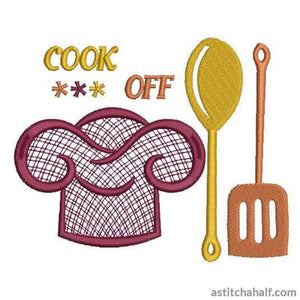 Cook Off - a-stitch-a-half