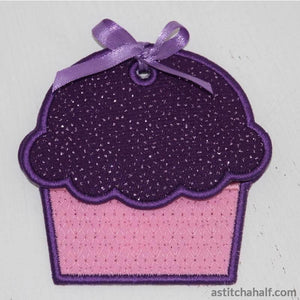 Cupcake Gift Card Holder - a-stitch-a-half