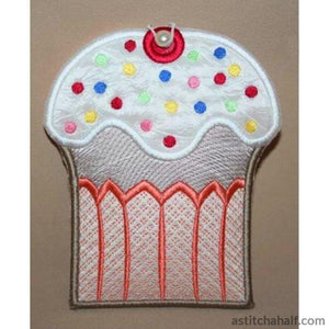 Cupcake Sprinkles Coin Purse - astitchahalf