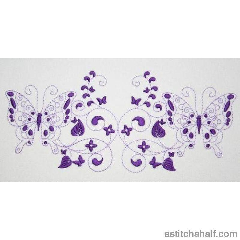 Degage Butterfly Dance - a-stitch-a-half