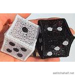 Dice And Domino Set Applique