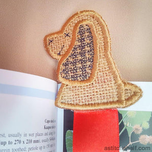 Doggie Bookmark - astitchahalf