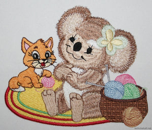 Emma And Lucy Embroidery Fill