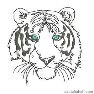 Eye of A Tiger - astitchahalf