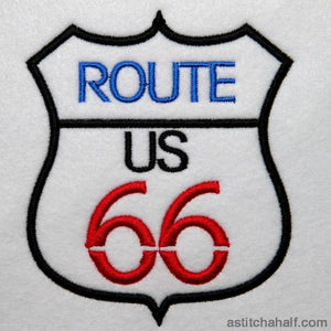 Famous Route 66 - astitchahalf