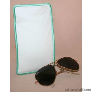 Feathery Eyeglass Cases 01 - astitchahalf