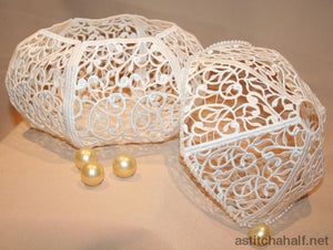 Filigree Dome Boxes - a-stitch-a-half