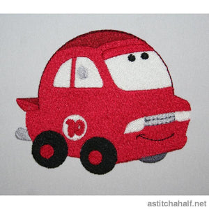 Fire Puff Car - astitchahalf