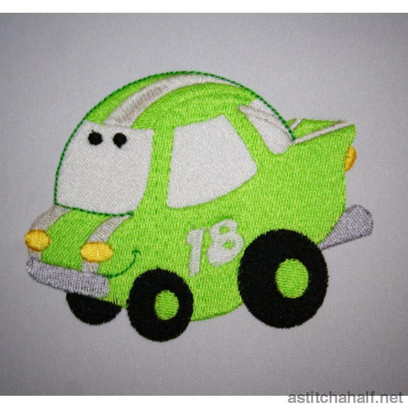 Flubber Car - astitchahalf