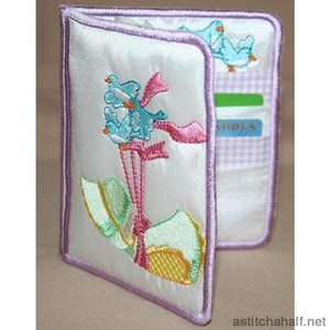Flying Bonnet Wallet - a-stitch-a-half