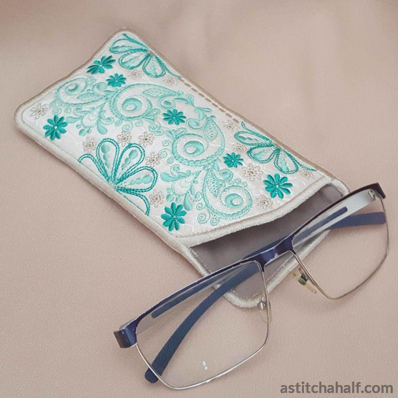 Forest Song Eyeglass Case - astitchahalf