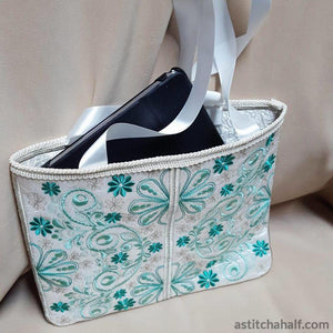 Forest Song Skinny Tote - astitchahalf