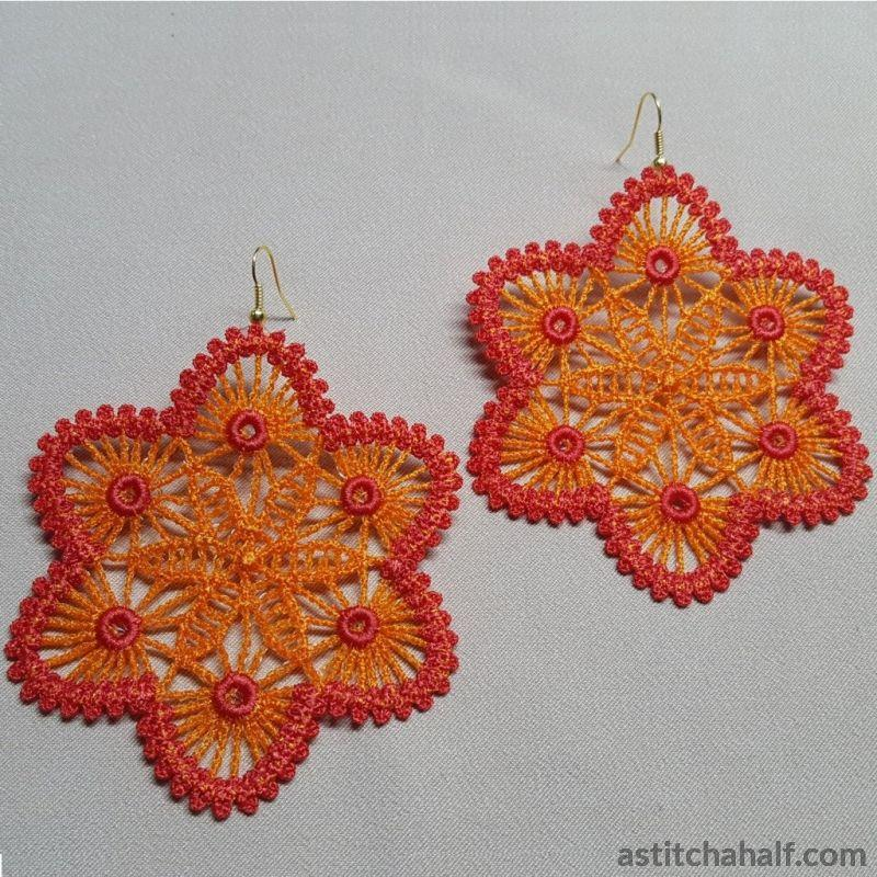 Freestanding Lace Crochet Look Jewels - astitchahalf