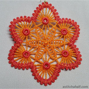 Freestanding Lace Crochet Look Jewels - a-stitch-a-half