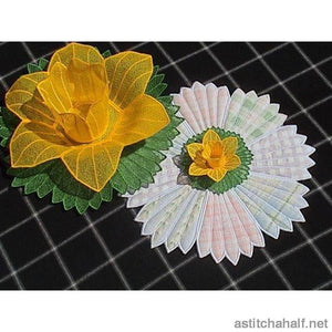 Freestanding Lace Daffodil Bowl