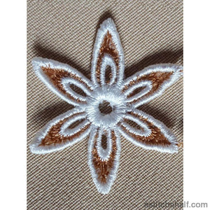 Freestanding Lace Spring Petals Embroidery Fill